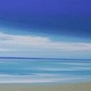 <p>24 x 18 Blue and Sand<br />