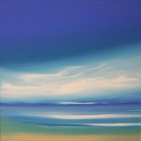 <p>11.5 x 11.5 Blue and Sand<br />