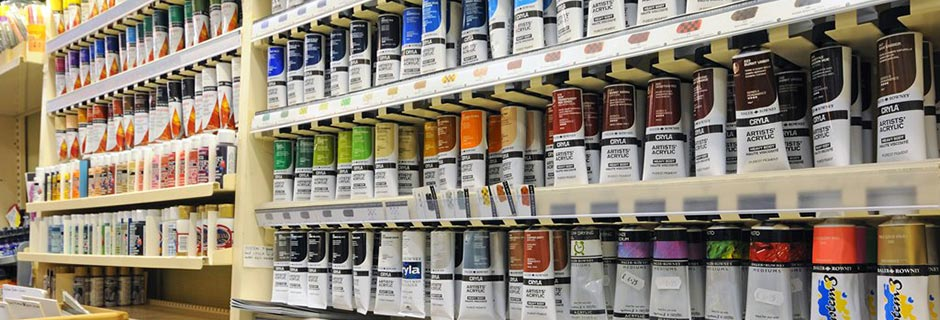 New Year special offers on Artist materials in store and online